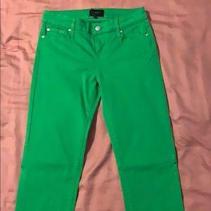 Kelly Green Skinny Jeans